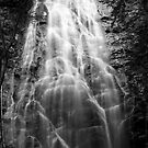 B&W Crabtree falls by Forrest Tainio