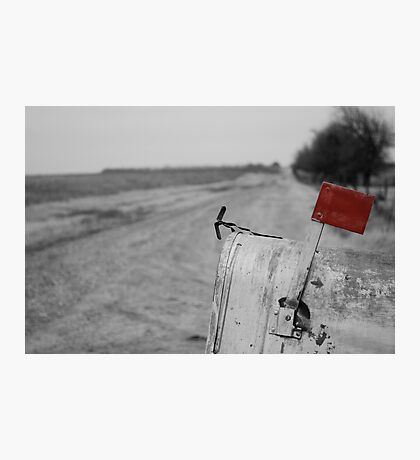 Rural Route Photographic Print