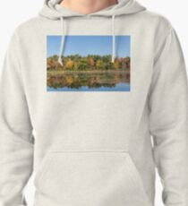 Colourful Muskoka Lake Symmetry  Pullover Hoodie