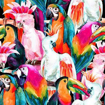 Exotic birdlife  by peggieprints