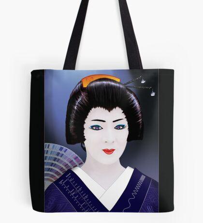 Geisha Color Tote Bag