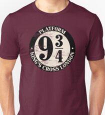 Platform 9 And 3 Quarters Distressed Variant Unisex T-Shirt