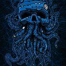 «cabeza azul» de manuvila