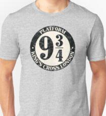 Platform Nine And Three Quarters Unisex T-Shirt