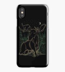 Canadian Bull Moose iPhone Case
