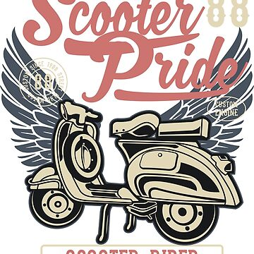 Scooter Pride by DukeOfSilex