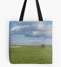 Big Sky and Kansas Wheat Tote Bag