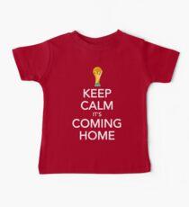 Keep Calm, It's Coming Home Baby Tee