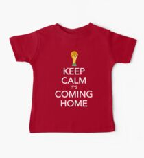 Keep Calm, It's Coming Home Baby T-Shirt