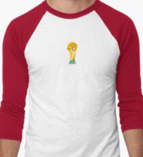 Keep Calm, It's Coming Home Men's Baseball ¾ T-Shirt