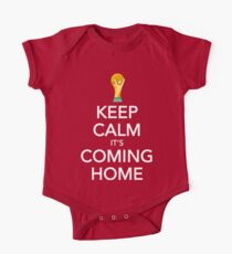 Keep Calm, It's Coming Home One Piece - Short Sleeve