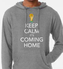 Keep Calm, It's Coming Home Lightweight Hoodie
