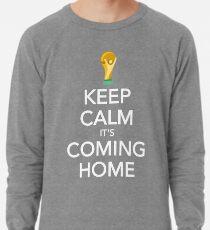 Keep Calm, It's Coming Home Lightweight Sweatshirt