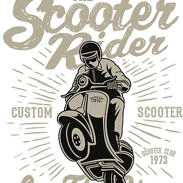 Scooter rider by DukeOfSilex
