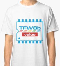 The Future Was 8 Bit Value Range Logo Classic T-Shirt