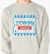The Future Was 8 Bit Value Range Logo Pullover