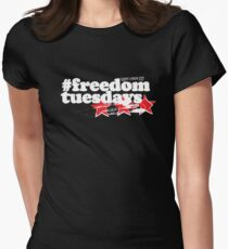 Freedom Tuesdays - White Women's Fitted T-Shirt