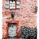 The red bricks facade by EmilieGeant