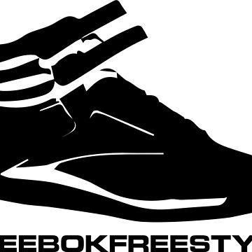 Reebok Freestyle Sneaker in Black #reebokfreestyle by Swaygo