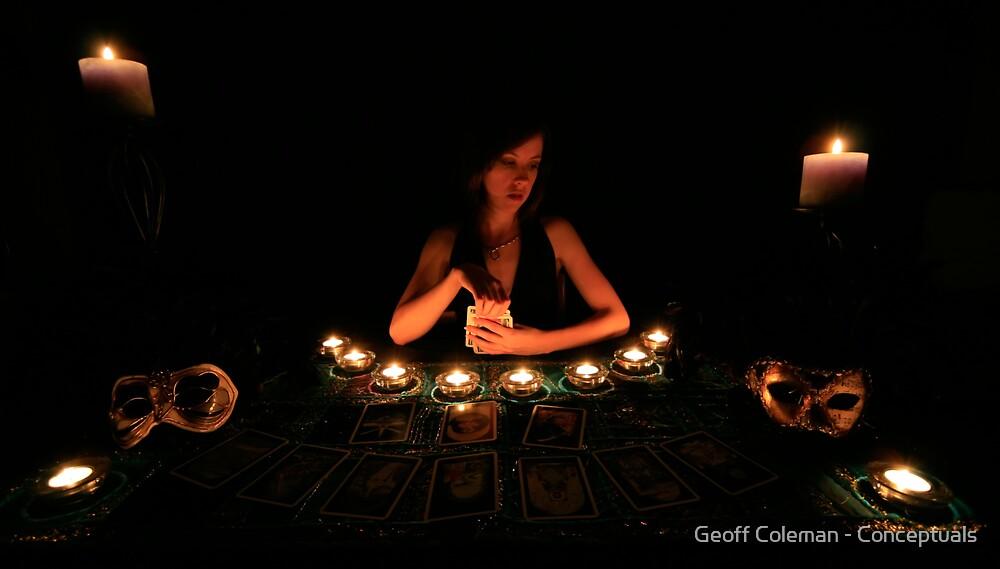 The Tarot Reader by Geoff Coleman - Conceptuals