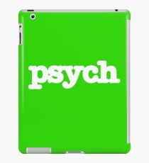 Psych Logo iPad-Hülle & Klebefolie