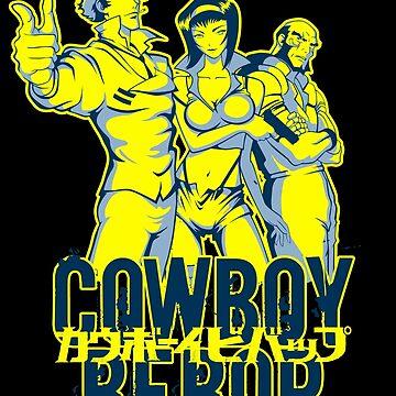 Cowboy Bebop Fluo by yexart
