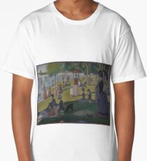 Georges Seurat - A Sunday Afternoon on the Island of La Grande Jatte Long T-Shirt