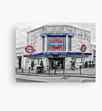 Colliers Wood Tube Station Canvas Print