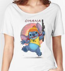Ohana: Firefly/Stitch Mashup Women's Relaxed Fit T-Shirt