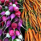 carrots & radishes by Jimmy Joe