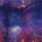 Mermaid in Space! (purple edition) by mrsxandamere