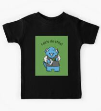 Dinosaurier - Let's do this! Kinder T-Shirt