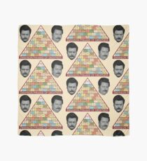 Ron Swanson's Pyramid of Greatness Scarf