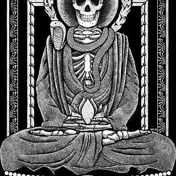 Gautama Buddha and Mucalinda by GrizzlyGaz