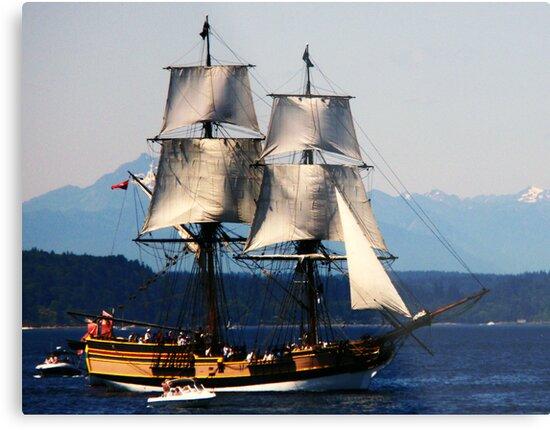 Pirate Ship by Jennifer Murray