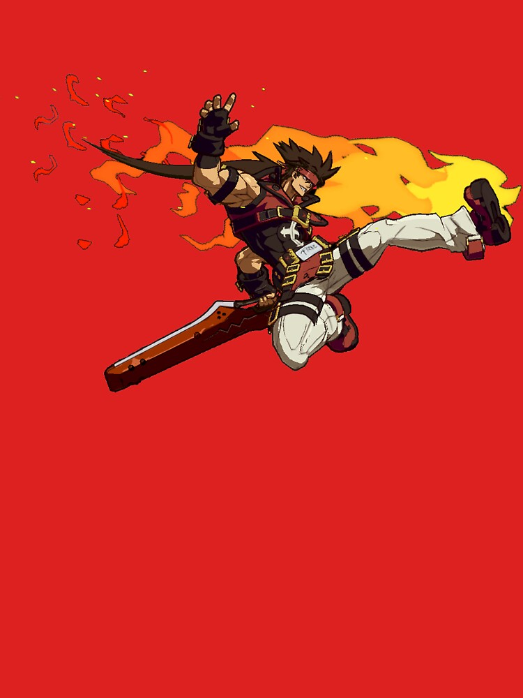 Guilty Gear Xrd Sol Badguy Unisex T Shirt By Vinoburrito Redbubble