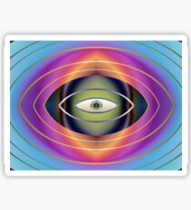 The Hungry Eye Sticker