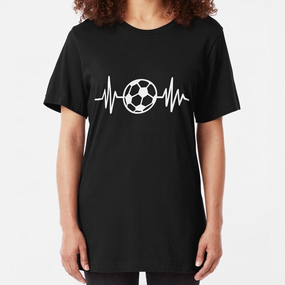 Frecuencia de fútbol Camiseta ajustada