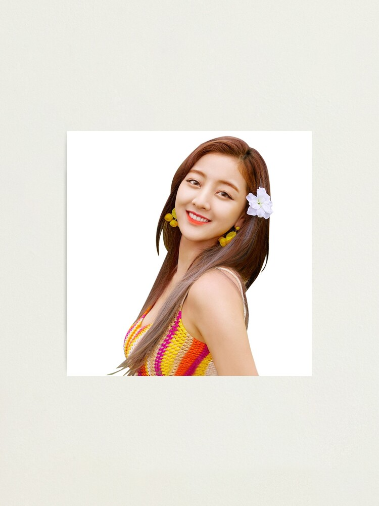 Twice Jihyo Cute Dance The Night Away Sticker Photographic