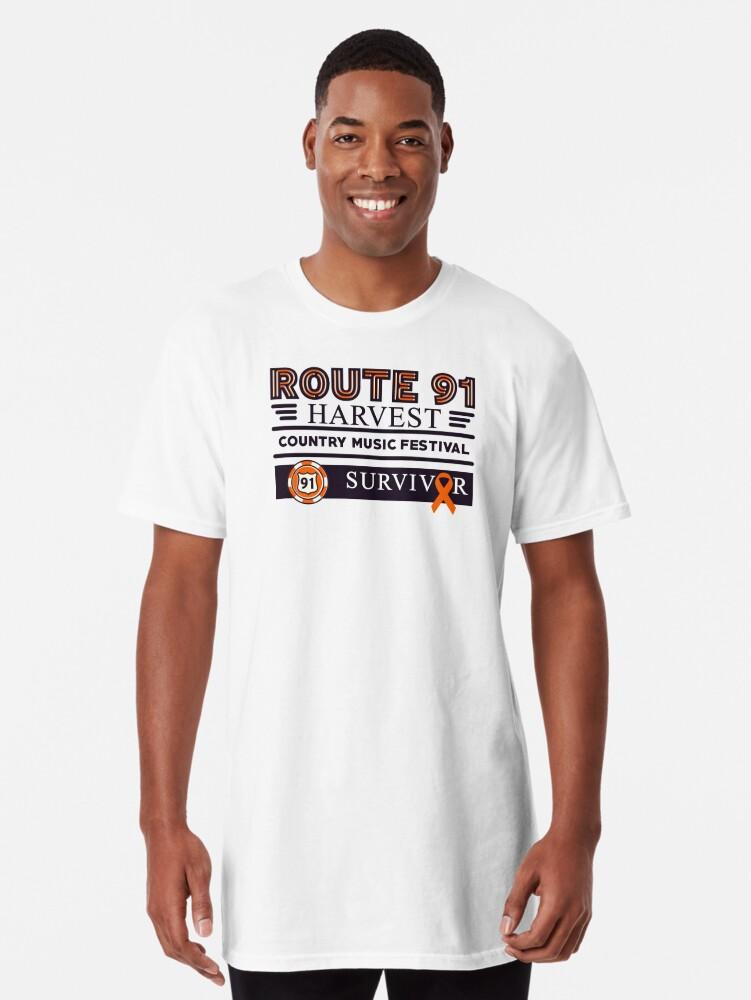 'Las Vegas Harvest Festival Survivor' Long T-Shirt by PureCreations