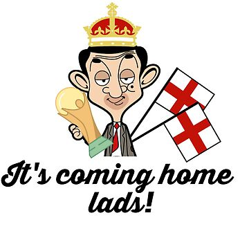 Coming home England football World Cup World Cup Mr Bean Cartoon by GarciaPayan