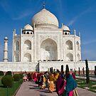 Obligatory Taj photo by Tim Lawes