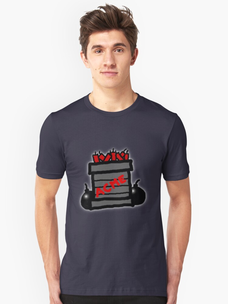 Cartoon TNT/Dynamite stack [Big] Unisex T-Shirt Front