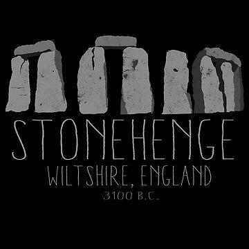 Stonehenge Ancient Britain Archaeology History Design by RealPilotDesign