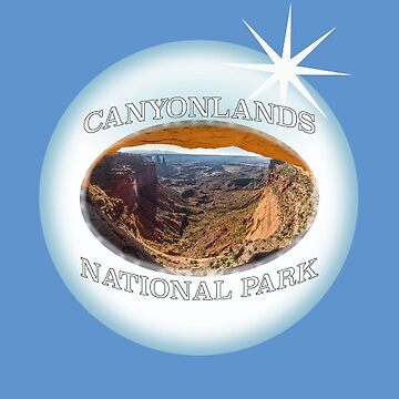 Canyonlands National Park Sticker by henrytheartist