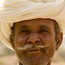 Desert man by Tim Lawes
