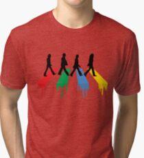 abbey road colour beatles Tri-blend T-Shirt