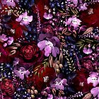 Deep Floral Chaos by Anis Illustration