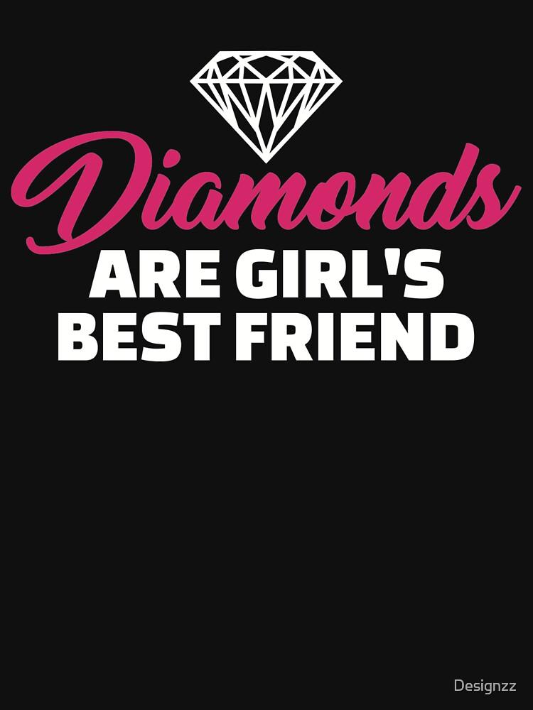 Diamonds are girl's best friend by Designzz