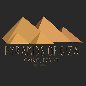 Pyramids of Giza | Egyptian Archaeology  by RealPilotDesign